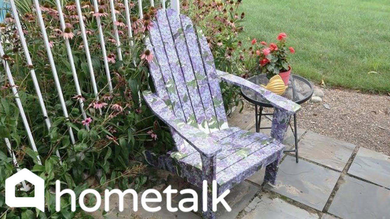 How To Makeover An Adirondack Chair