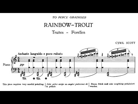 Cyril Scott  Rainbow Trout 1916