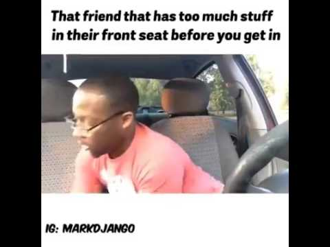 We All Have That One Friend That Keeps A Messy Car Youtube