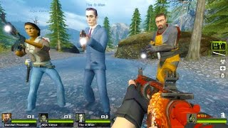 Left 4 Dead 2 - Half-Life 2: White Forest Custom Campaign Gameplay Walkthrough