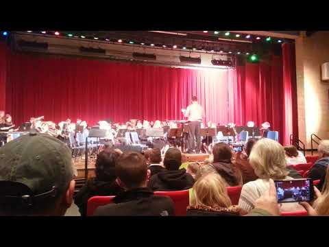 South Laurel Middle School Beginner Band First Concert