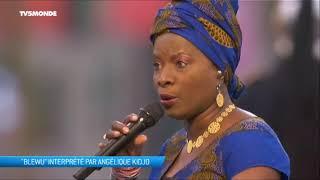 """Angélique Kidjo chante """"Blewu"""", aux commémorations de l'armistice de la Première Guerre mondiale"""