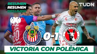 Resumen | Guadalajara 0 - 1 Tijuana | Liga MX - Apertura 2019  - Jornada 16 | TUDN