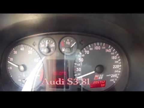 Audi S3 8l 0-100 Km/h Sound Test Acceleration