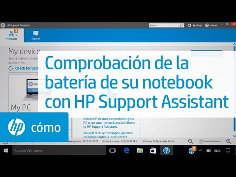 Comprobación de la batería de su notebook con HP Support Assistant | HP Notebook | HP