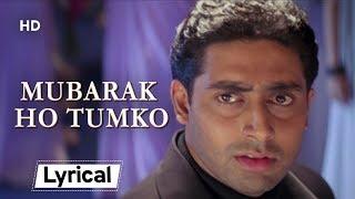 Mubarak Ho Tumko With Lyrics | मुबारक हो तुमको | Haan Maine Bhi Pyaar Kiya (2002) | Akshay Kumar