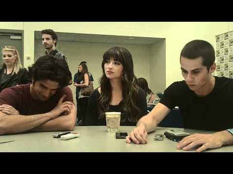 Teen Wolf - Tyler Posey, Crystal Reed and Dylan O † Brien