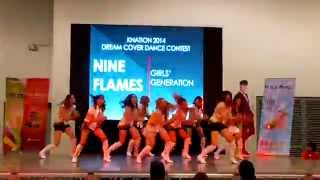 Nine Flames - Genie/The Boys Remix(SNSD Cover) : KNation 2014