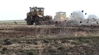 Культивация почвы,посевная 2009. Video.