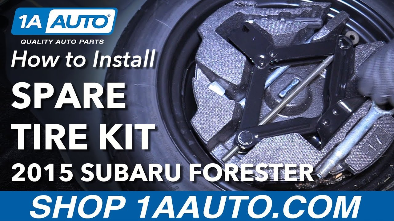 Where To Find My Spare Tool Kit 13 18 Subaru Forester Youtube