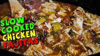 Slow Cooked Chicken Fajitas Recipe