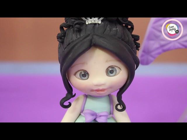 Expohobby TV (T04 - E40) María Laura García - Porcelana fría