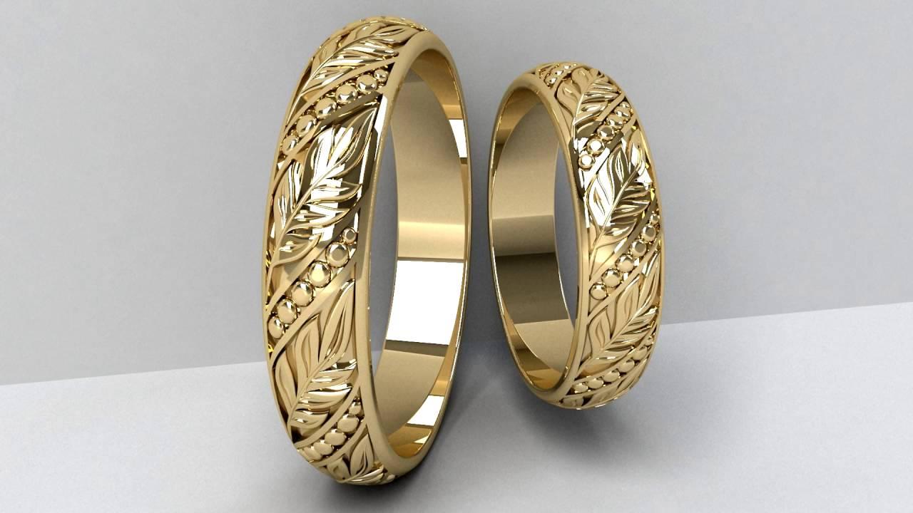 bfed073bb Mens Wedding Rings - YouTube