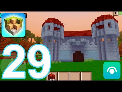 Block Craft 3D: City Building Simulator - Gameplay Walkthrough Part 29 - Level 14, Keep (iOS) - 동영상