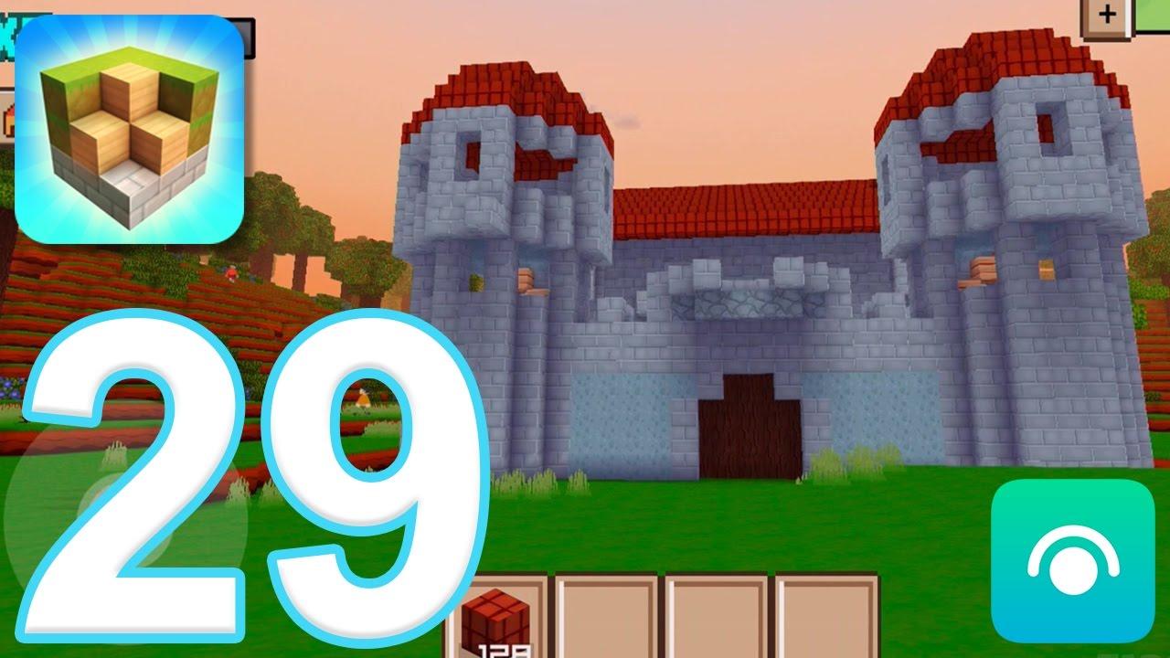 Block Craft 3D: City Building Simulator   Gameplay Walkthrough Part 29    Level 14, Keep (iOS)   YouTube