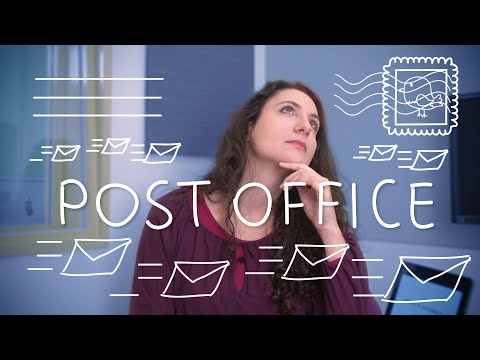 Weekly Italian Words with Ilaria – Post Office