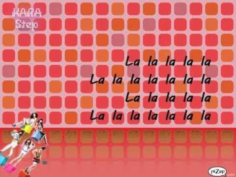KARA - Step (Korean) Lyrics
