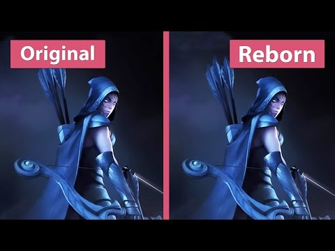 Dota 2 – Original Vs. Reborn Beta Map Comparison [60fps][FullHD]