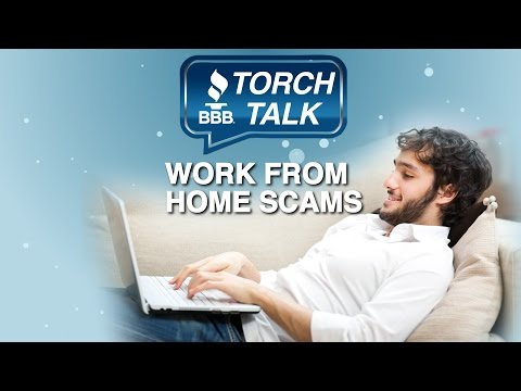 How to Avoid Work From Home Scams