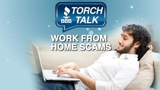 How to Avoid Work From Home Scams - BBB Torch Talk