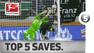 Top 5 Saves -  Neuer, Zieler and More with Incredible Stops