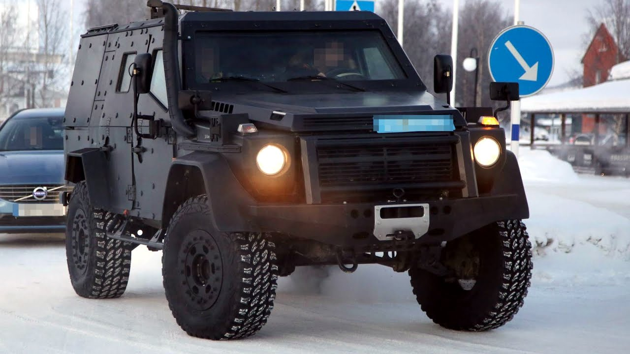 Mercedes G Class Suv >> Mercedes-Benz G-Class Light Armored Patrol Vehicle - YouTube