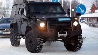 видео Mercedes-Benz G-Wagon LAPV 6.X и LAPV 7.X- новые концепты патрульных броневиков