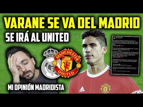 Download 🚨VARANE SE VA DEL REAL MADRID fichará por el MANCHESTER UNITED · Mi OPINIÓN como MADRIDISTA ... 😣