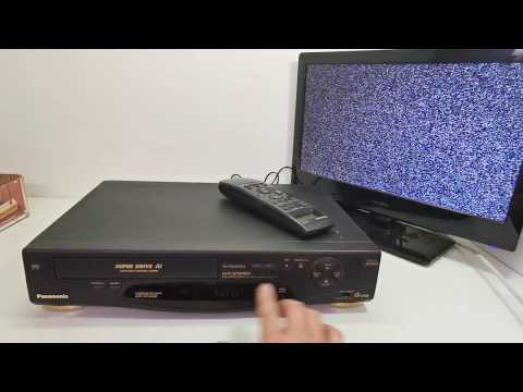 PANASONIC NV-HD600MK2 G-Code VCR Video Cassette Player with Remote