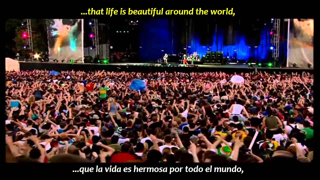 Red Hot Chili Peppers - Around the world (inglés y español)