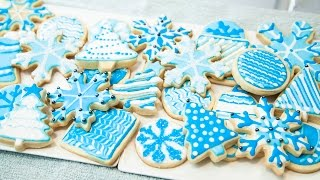 HOW TO DECORATE COOKIES WITH ROYAL ICING, FOR BEGINNERS (THE B…