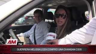 Guerrera Melissa Loza compró una Changan CS35