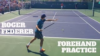 ROGER FEDERER • FOREHAND FLUIDITY WITH STAN WAWRINKA
