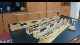 High road low road race, potential kinetic energy Part 2--Homemade Science with Bruce Yeany