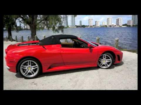 2007 Ferrari F430 Spider F1 Corsa Red in Miami From Brickell Luxury Motors