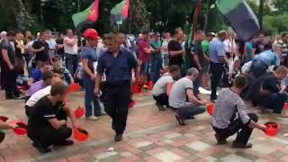 На площади перед Верховной Радой митингуют шахтеры | Страна.ua