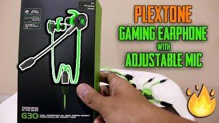 Plextone Pro Gaming Earphones with adjustable Mic | Unboxing Video