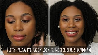 Fun, Colorful Green Beauty Eyeshadows ft. Mother Bear's Handmade
