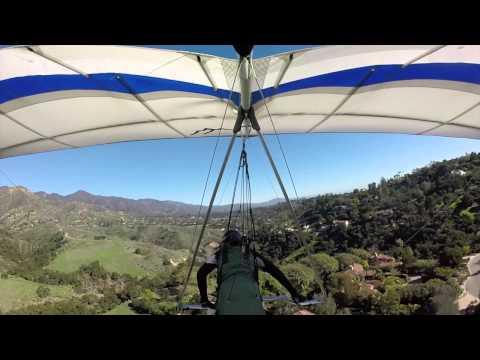 Flying at Santa Barbara CA