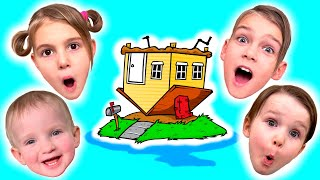 Five Kids Family Trip to Museum illusions