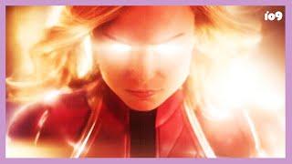 The Carol Danvers Origin Story that Marvel shot down