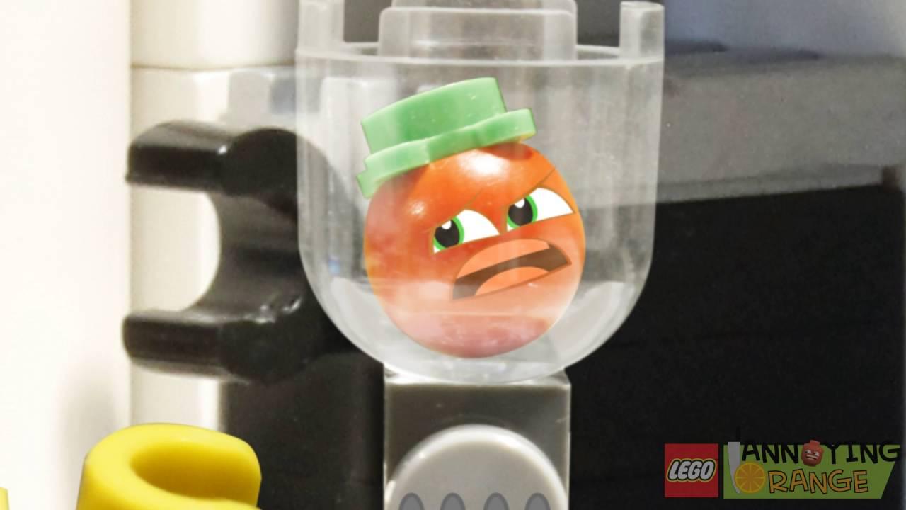 Lego Annoying Orange: TOE-MAY-TOE