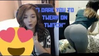 Pokimane twerk on her livestream... | POKIMANE THICC Moments.