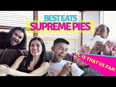 BEST PIES In NZ Ft. Is That Us Fam (New Zealand Supreme Pie Awards 2018)