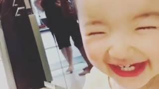 YoonA with Ha Eun So Yi Hyun 39 s daughter