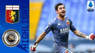 Genoa 2-0 Spezia | Il Genoa vince il derby ligure contro lo Spezia | Serie A TIM