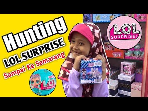LOL SURPRISE : Hunting Lol Surprise Mainan Anak Murah  Sampai Ke Citraland Mall Semarang