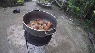 Jamaican Country Cooking -  Jamaica Off Grid Food