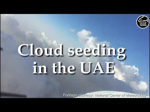UAE weather: Cloud seeding in the UAE causes heavy rain in D
