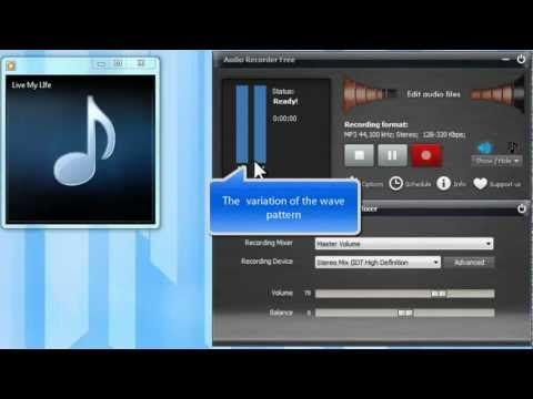 How to Record Stereo Mix (Record Sound from Your Computer) with Free Audio Recorder